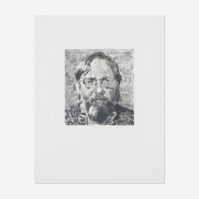Chuck Close, 'John I', 1991