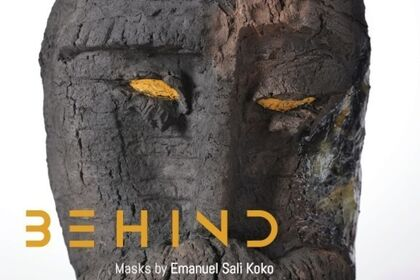 Coming soon. BEHIND - Masks by Emanuel Koko