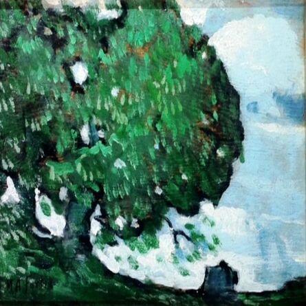 Marc-Aurèle Fortin, 'Ormes a Sainte-Rose', 1925