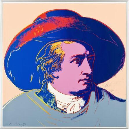 Andy Warhol, 'Goethe (FS II.273)', 1982