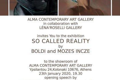 So called reality / Mózes Incze & BOLDI / In collaboration with ALMA Contemporary Art Gallery