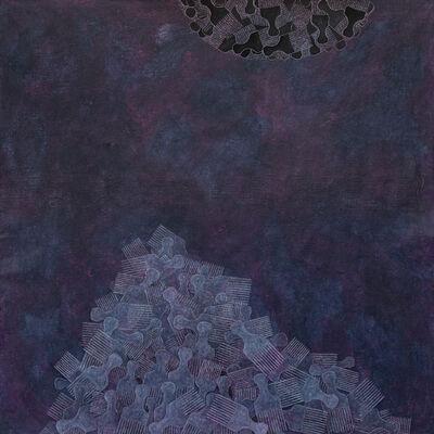 Satch Hoyt, 'Tangled Migrations Black Planet #1', 2021