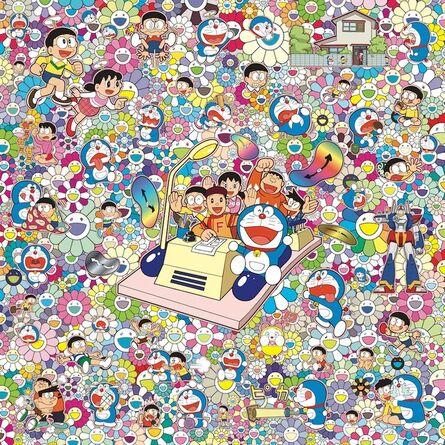 Takashi Murakami, 'Everywhere with Fujiko F. Fujio-sensei and time machine!', 2018
