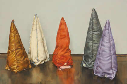 Michaël Borremans - Coloured Cones