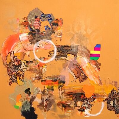 Yuni Lee, 'Efflorescence (yellow)', 2015