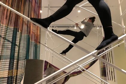 Crystal Gregory and The Moving Architects: Workshopping Performance at 21c Museum Hotel