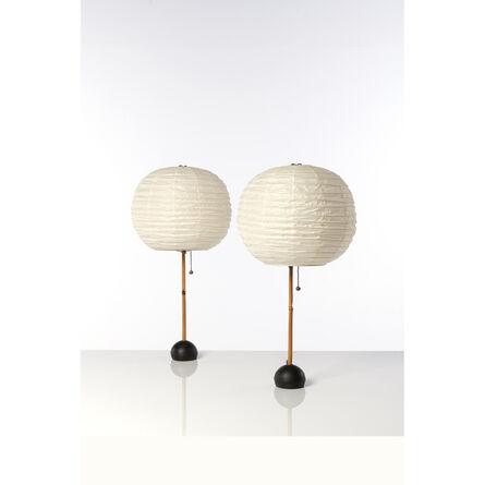 Isamu Noguchi, 'Pair of table lamps', 1960