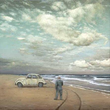 Juan Luis Jardi, 'Dos Caballos en la Playa'