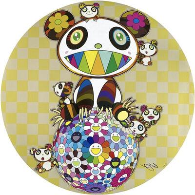 Takashi Murakami, 'Panda and Panda Cubs and Flower Ball', 2019