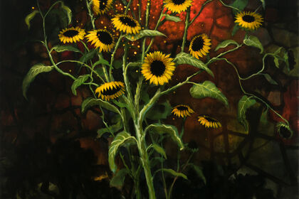 Kevin Sloan   Radiant Season - at the Denver Botanic Gardens