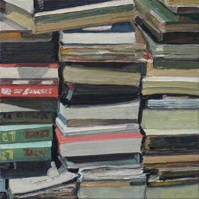 Ralph Fleck, 'Bücher 19 III   ', 2020