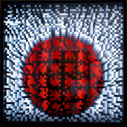 Miguel Chevalier, 'Pixels Op'Art', 2012