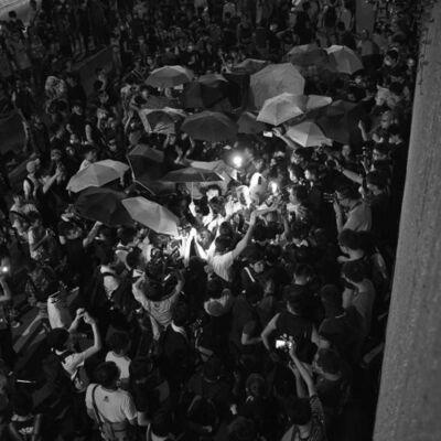 South Ho Siu Nam 何兆南, 'The Umbrella Salad IV', 2014