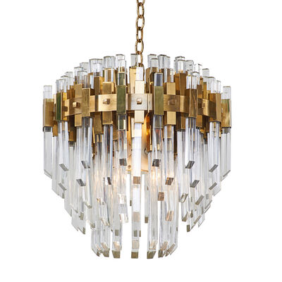 Gaetano Sciolari, 'Eight-light graduated chandelier', ca. 1970s