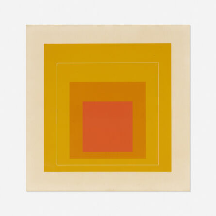Josef Albers, 'WLS XII (from White Line Squares, Series II)', 1966