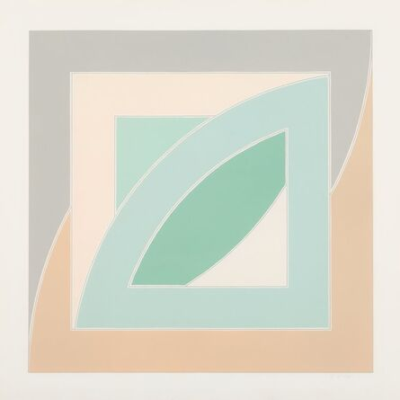 Frank Stella, 'River of Ponds IV, from Newfoundland Series', 1971