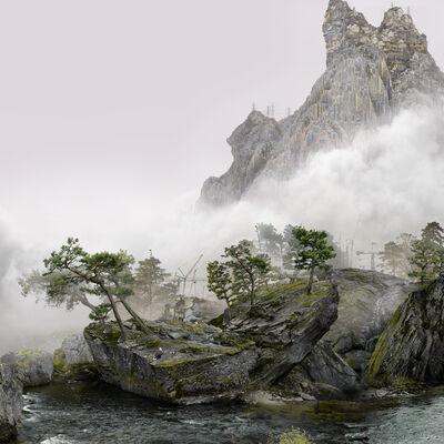 Yang Yongliang 杨泳梁, '猎鹰Falcon', 2021
