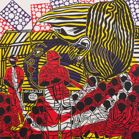 Boris Nzebo, 'Laissez-Nous Sortir', 2016