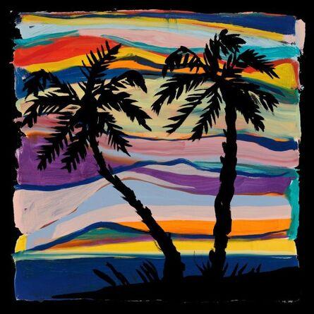Josh Smith, 'Palm Tree Scarf', 2020