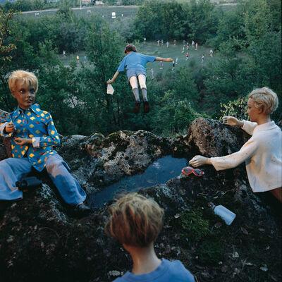 Bernard Faucon, 'L'enfant qui vole, Les Grandes Vacances', 1979