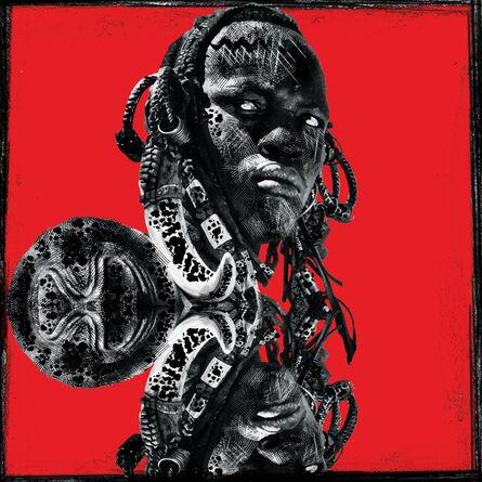 Ralph Ziman, 'Kirinomeri (Red)', 2020