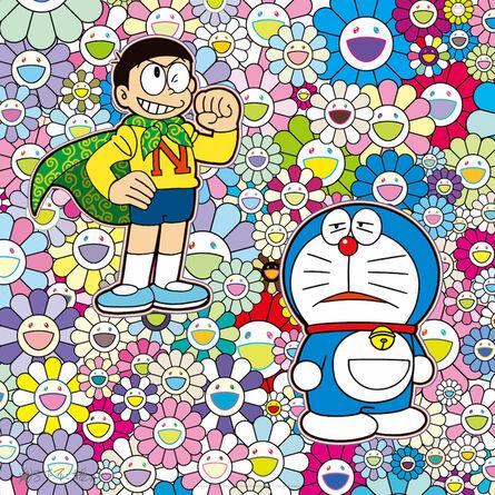Takashi Murakami, 'Feeling like a power man! But is that okay?', 2020
