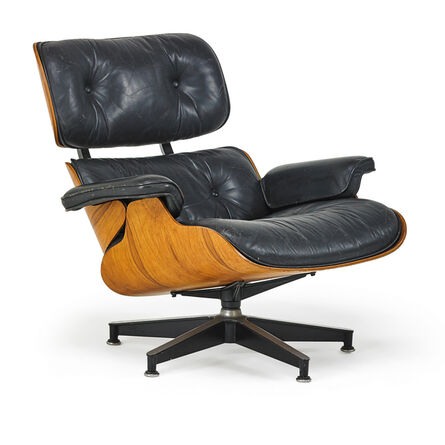 Charles Eames, 'Charles & Ray Eames For Herman Miller Lounge Chair', 1980s