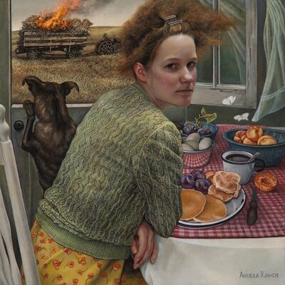 Andrea Kowch, 'Flame (Limited Edition Hand Signed Print)', 2019