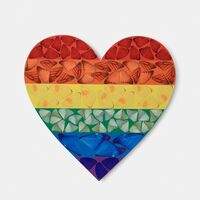 Damien Hirst, 'Butterfly Heart', 2020