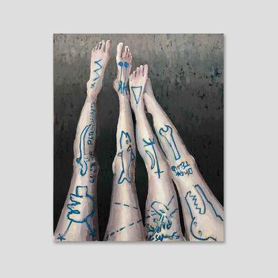 Tomas Harker, 'Tattooed Legs ', 2020
