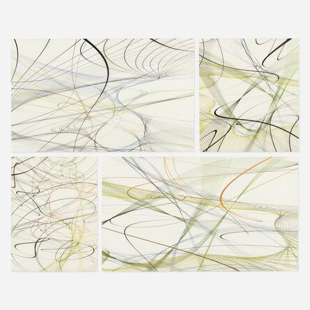 Thomas Ruff, 'Zycles (four works)', 2009