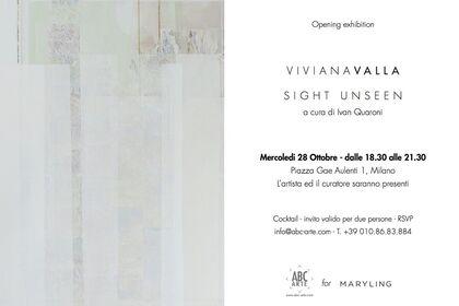 Viviana VALLA | SIGHT UNSEEN