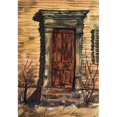 Richard Anuszkiewicz, 'Old Door', 1953