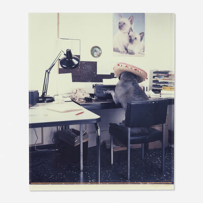 William Wegman, 'Office Worker', 1982