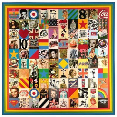 Peter Blake, 'PETER BLAKE- 100 SOURCES OF POP ART', 2014