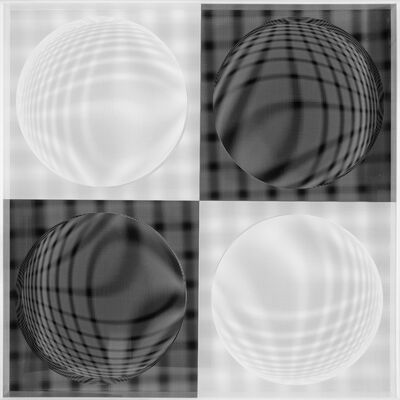 Hector Ramirez, '4 Esferas Expansivas', 2015