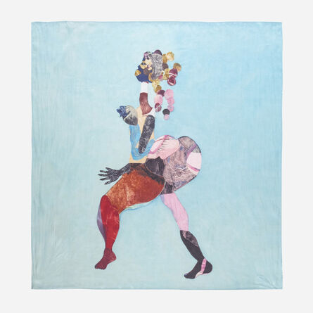 Tschabalala Self, 'Untitled (scarf)', 2019