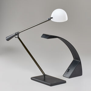 """Paolo Rizzato & Arteluce, 'Two desk lamps: Anglepoise model no. 613 and """"Arcobaleno""""', ca. 1970s"""