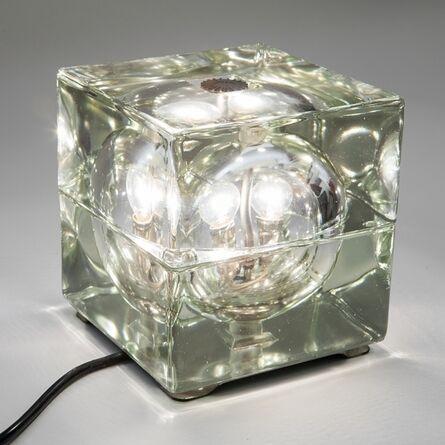 Alessandro Mendini, 'A table lamp  'Cubosfera' model', 1968