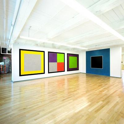 Sol LeWitt, 'Wall Drawings #583 H & F, #584 H, and #725 ', 1988