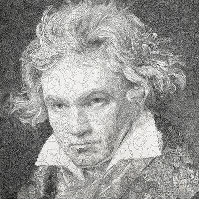 Keita Sagaki, 'Hystorical Portraits vol. 1 - Ludwig van Beethoven', 2019