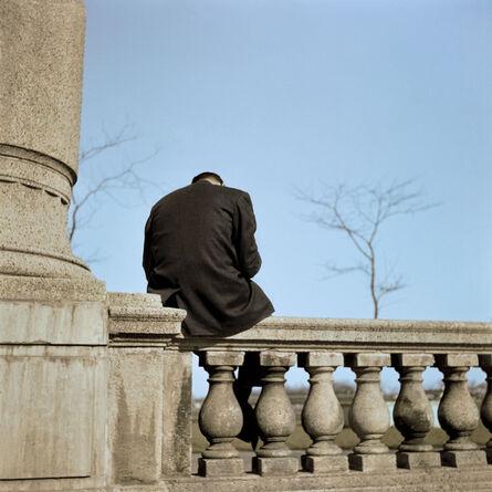 Vivian Maier, 'Man Sitting (VM1956K05920)', 1956