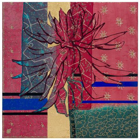 Robert Kushner, 'Large Red Dahlia', 2017