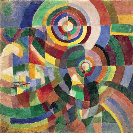 Sonia Delaunay, 'Electric Prisms', 1914