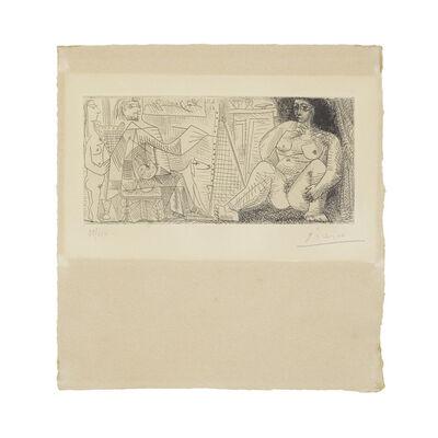 Pablo Picasso, 'Le peintre et son modèle, from Dans l'Atelier (Bloch 1139; Baer 1136)', 1963