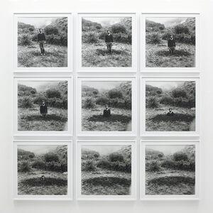 Keith Arnatt, 'Self-Burial', 1969