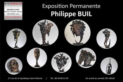 Philippe Buil's Sculptures exhibition