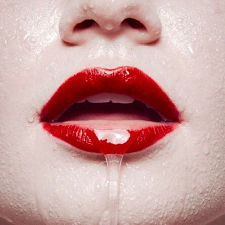 Tyler Shields, 'Mouth', 2017
