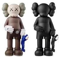 KAWS, 'KAWS SHARE Set of 2 (KAWS share companion black & brown)', 2020