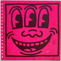 Keith Haring, 'Keith Haring cover art (Keith Haring Three Eyed face) ', 1982